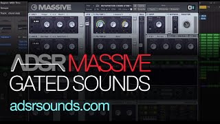 NI Massive Tutorial - Gated Sounds in Massive
