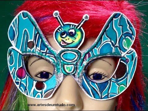 Máscara De Carnaval Máscara De Eva 05 Modelos De Máscaras De