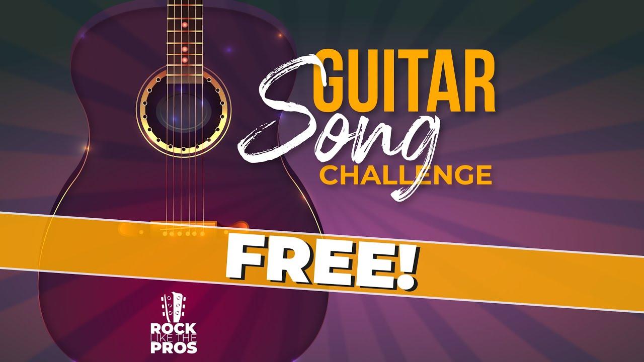 #RockLikeThePros Guitar Song Challenge! Join us!