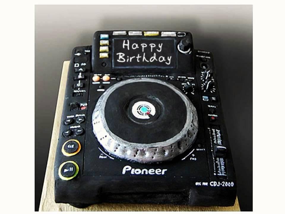 Happy birthday techno