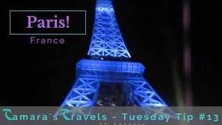 Vlog From Paris to Tours France - Tamera's Travels