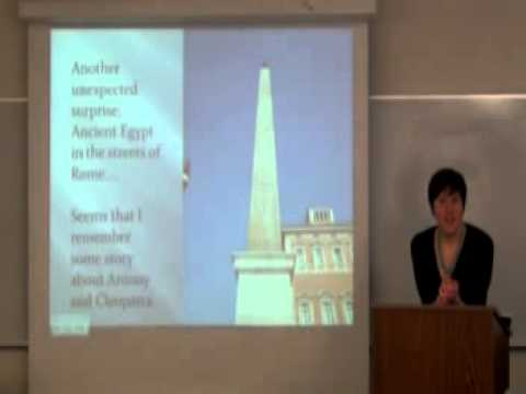 My Lecture at Lord Fairfax Community College on European Travel