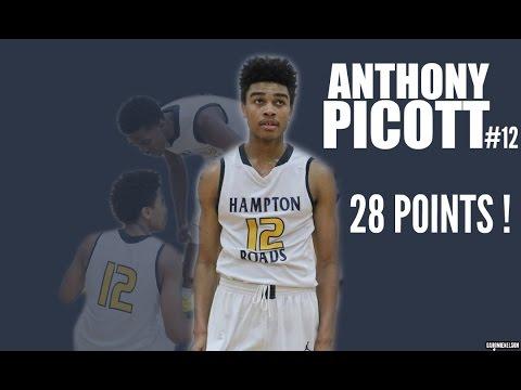 Anthony Picott (HRA) Amazing Performance 28 Points VS. Nansemond Suffolk Academy