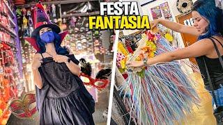 VEM COMIGO !! FESTA FANTASIA DA NATY * muitas surpresas na minha fantasia