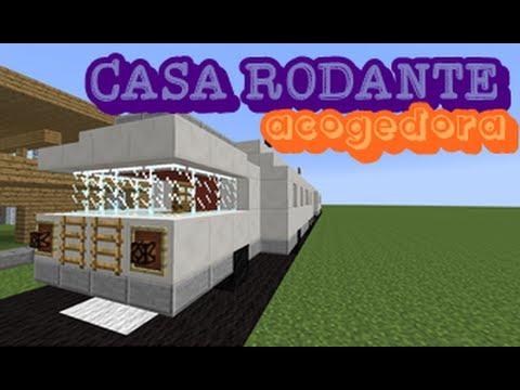 6 casa rodante acogedora minecraft tutorial youtube for Casa rodante clasica