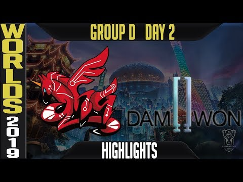 AHQ vs DWG Highlights Game 1 | Worlds 2019 Group D Day 2 | AHQ Esports Club vs Damwon Gaming