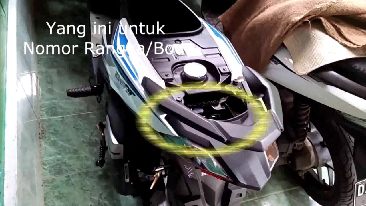 Cara Gesek Nomor Mesin Dan Rangka Motor