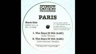 Paris - The Days Of Old ( Instrumental )