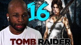 "Tomb Raider 2013 Walkthrough Part 16 - THE AMBUSH ""Tomb Raider 2013 Gameplay"""