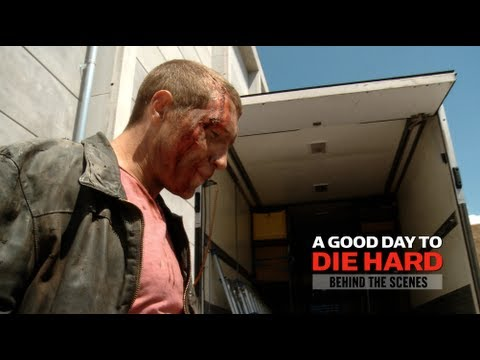 Die Hard 5 - 'A Good Day To Die Hard' - Behind the Scenes Trailer 2013. Blu-Ray