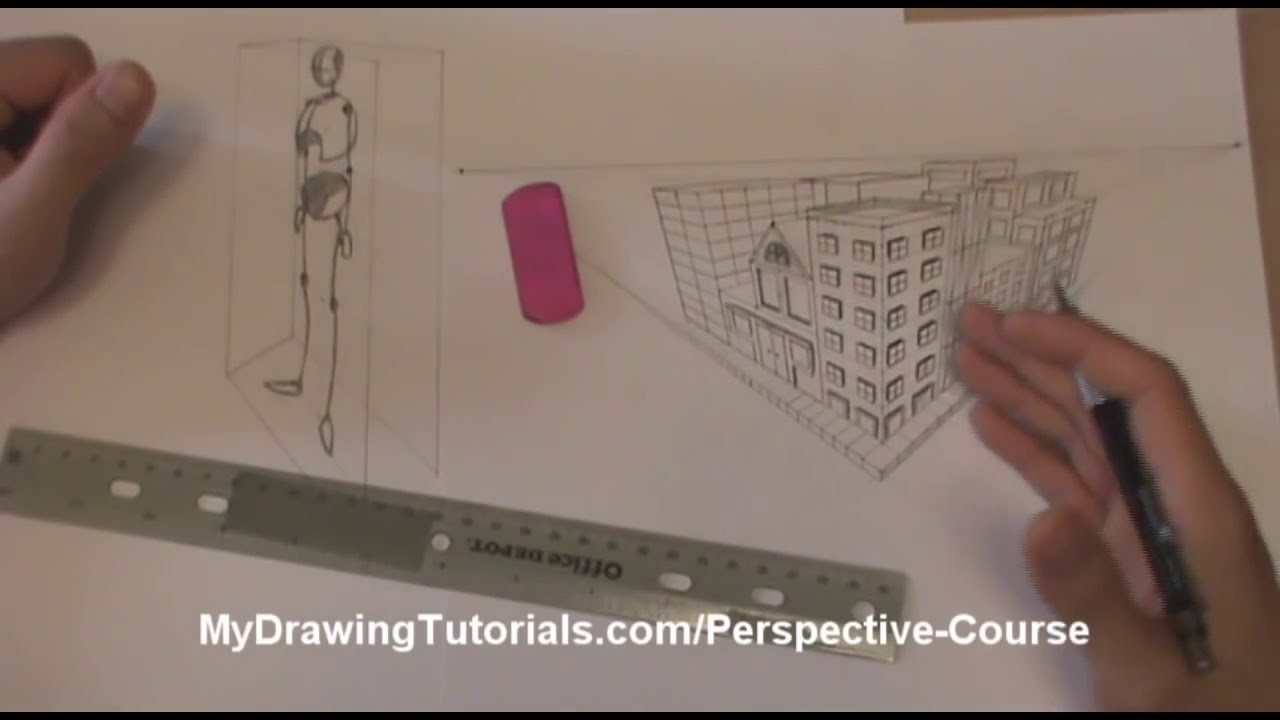 Perspective Art Lesson