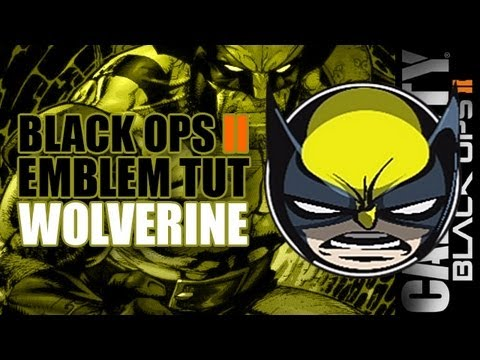 black ops 2 emblem tutorials wolverine youtube