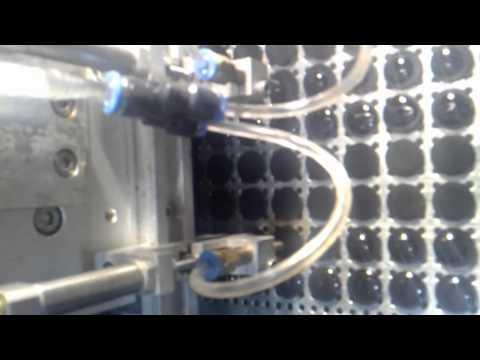 Automatic epoxy dispenser machine on button