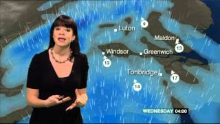 ELIZABETH RIZZINI:--: BBC London Weather - 21 Jan 2014 - Fog Patches
