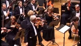 Arve Tellefsen plays Shostakovich Violin concerto No.1,conductor Espen Selvik, Kaunas 2009