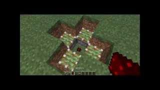 Механизмы в minecraft: Маленькая ловушка
