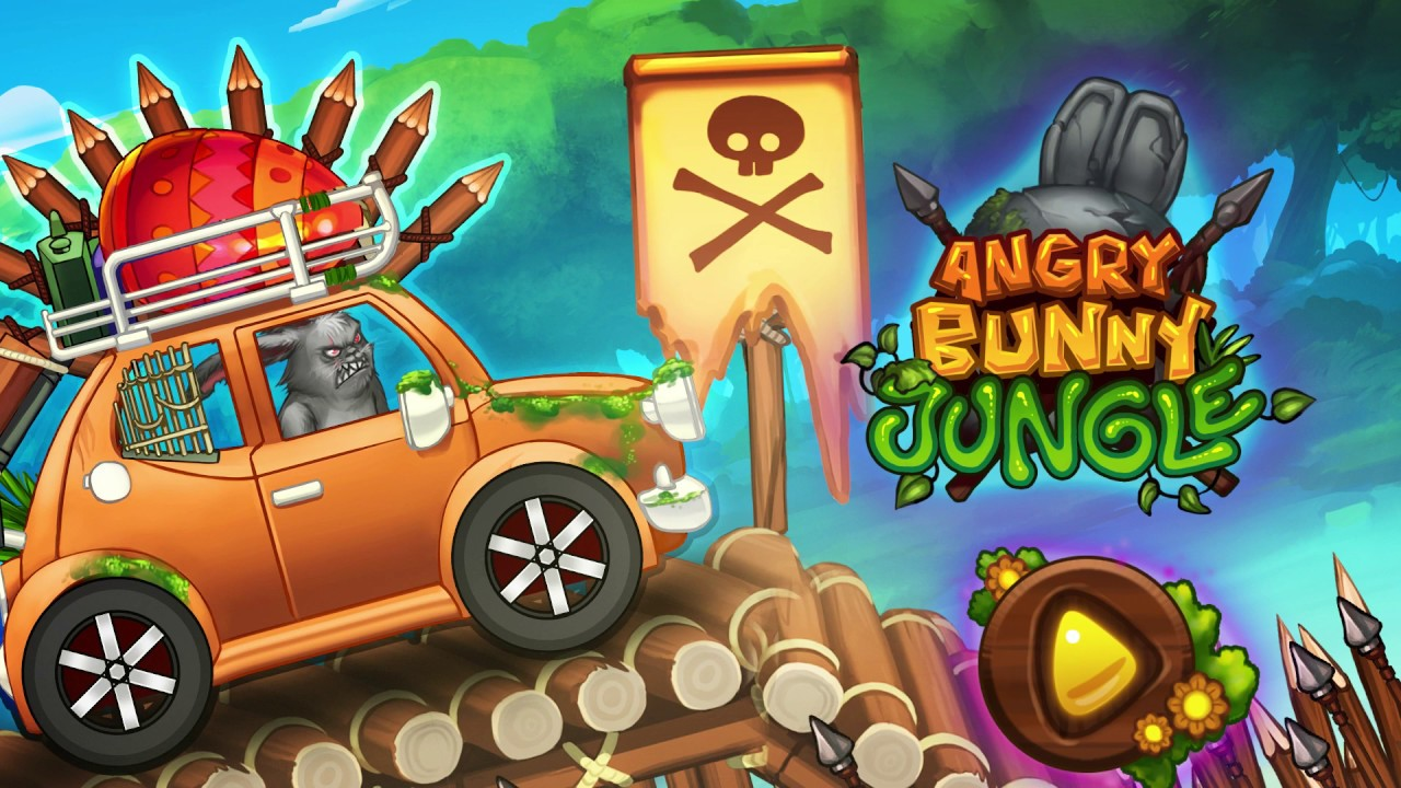 Angry Bunny Race: Jungle Road ud83dudc30ud83dudc07