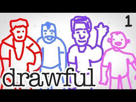 HILARIOUS PARTY GAME   Drawful #1