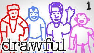 HILARIOUS PARTY GAME | Drawful #1
