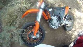 Dirt Bike vs Quad wreck