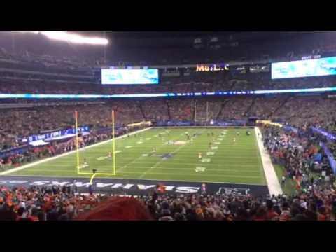 Super Bowl XLVIII opening kickoff