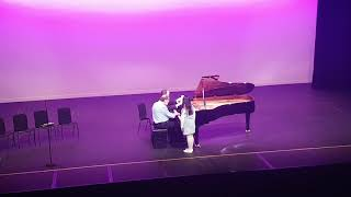 Mozart — Sonata B flat major, K 358 Mov. 3 (Molto Presto)