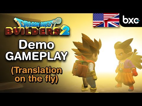 Let's play the Dragon Quest Builders 2 Demo (translation on the fly)