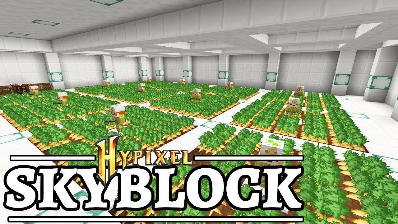 HOT POTATO Bookfarm - Minecraft Skyblock 31 - Hypixel Skyblock