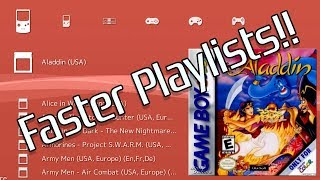 Faster Playlists for RetroArch on AutoBleem and BleemSync