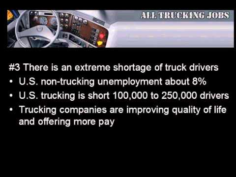 Top 10 Reasons to Start a Trucking Career