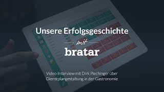 Papershift Success Story mit Bratar: Teaser Video