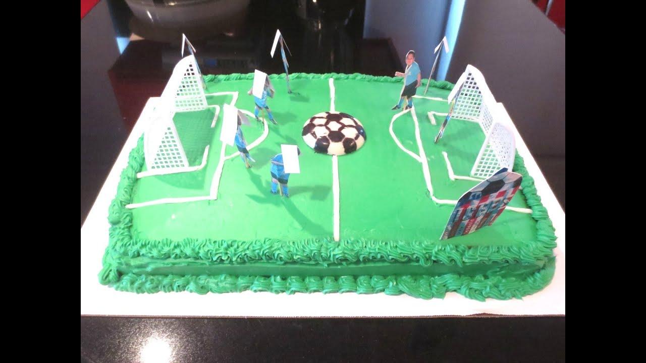Soccer Cake YouTube
