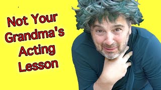 """Visualization & Radiation, Framing Gestures Artistically, and """"Dominate"""": 10 Minute Acting Class"""