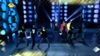20121027 快乐大本营 Adam Lambert Trespassing Remixes