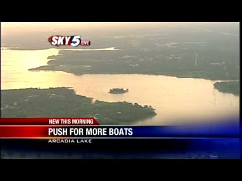 New push for more boats on Arcadia Lake