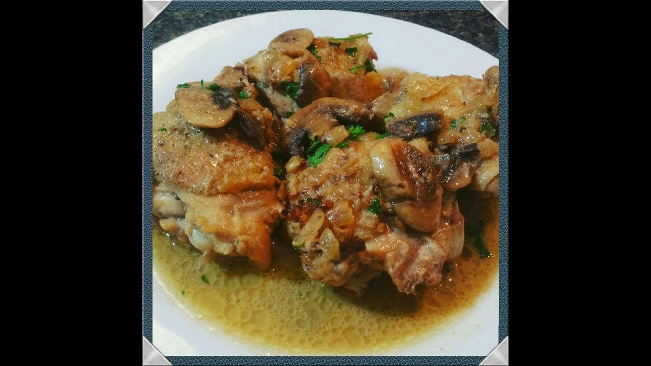 Simple chicken marsala recipe w thighs easy chicken marsala youtube simple chicken marsala recipe w thighs easy chicken marsala forumfinder Images