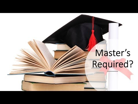 Do you need a Master's degree in Instructional Design, Training, and e-Learning?