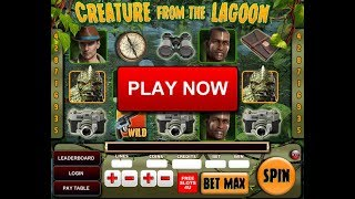 Creature From The Lagoon Slot Machine by FreeSlots4U.com