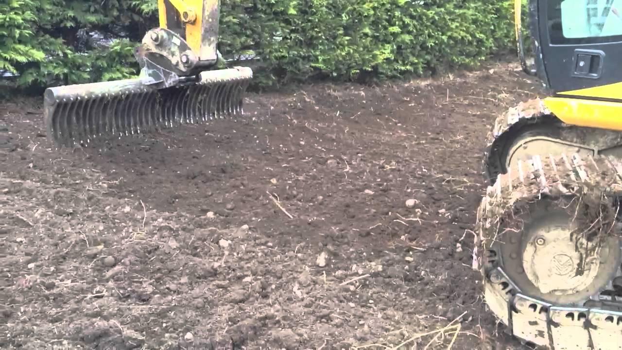 Landscape Root Rake : Landscape rake