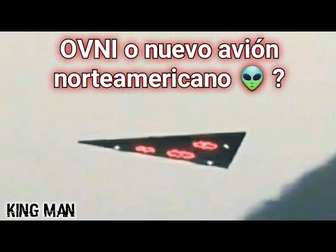 OVNI triangular o una nueva nave norteamericana ?? ?