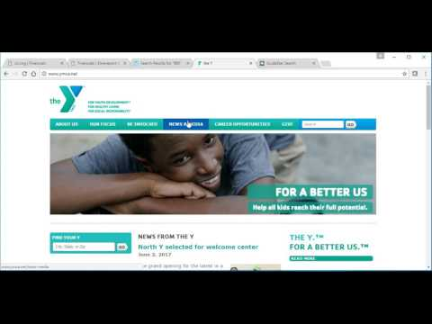 Finding Financial Reports on Charity Websites