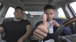 EATING TACO BELL $1 BEEFY FRITOS® BURRITO @HODGETWINS