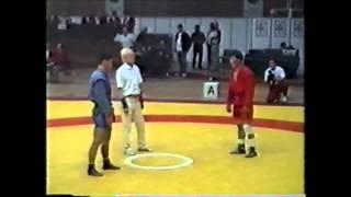 サンボ世界選手権 -57kg級 3位決定戦(1995年)