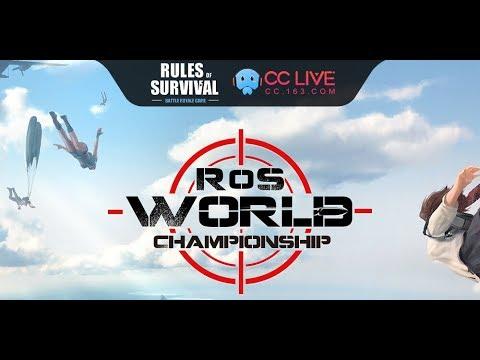 ROS World Championship - Final North-America Server