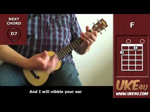 I'm Yours (Jason Mraz) - Ukulele Playalong - Tutorial - Lesson