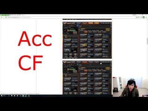 Trang mua bán ACC CF UY TÍN - Giá siêu rẻ cho anh em