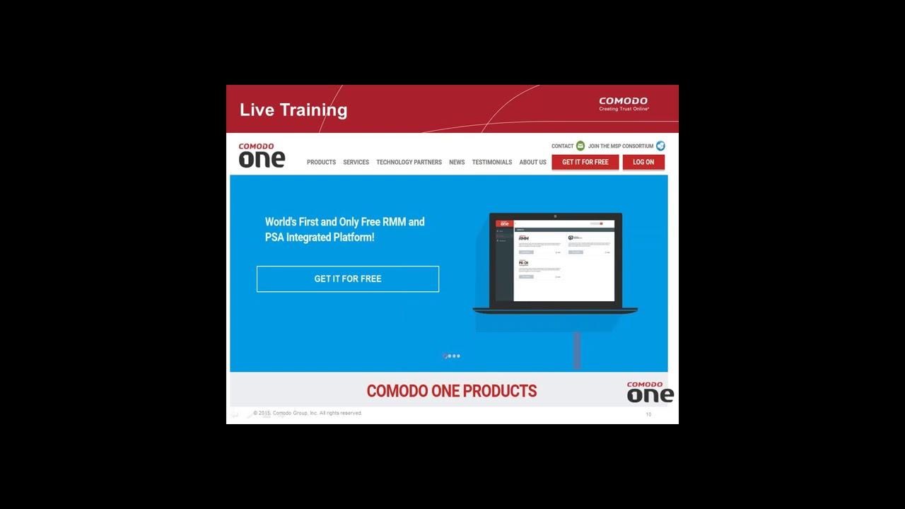 RMM Software, Service Desk, Patch Management (How to install, deploy and  manage Comodo ONE platform)