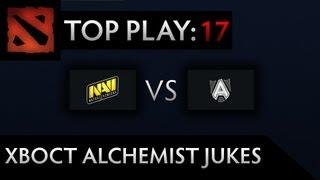 Dota 2 TI3 Top Play - Clip 17 - XBOCT Alchemist Jukes (Crowd Reaction + Pod Cam)