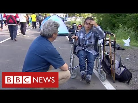 Nujeen's story: the Syrian refugee who crossed Europe in a wheelchair - BBC News
