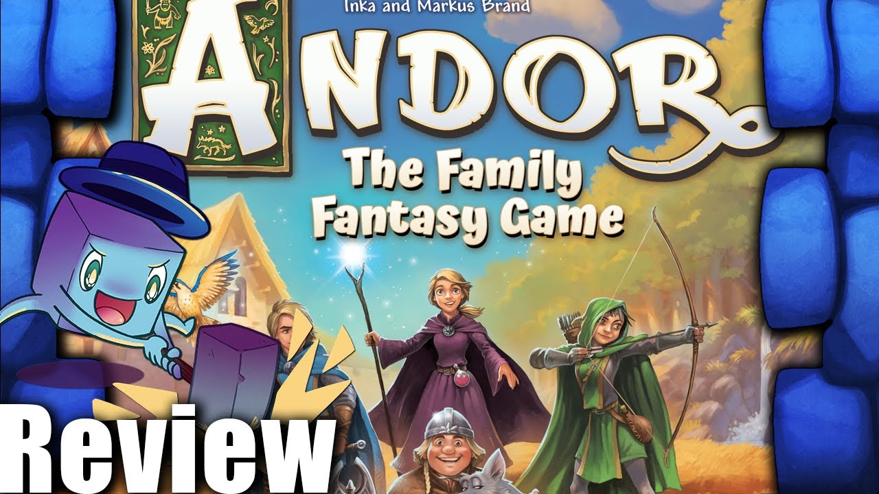 Download Andor: The Family Fantasy Game Review - with Tom Vasel